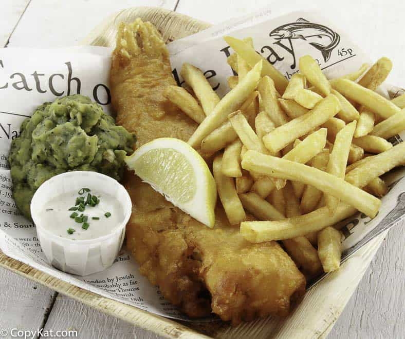You can make Beer Batter Fish and Chips at home.  It's so easy to do!
