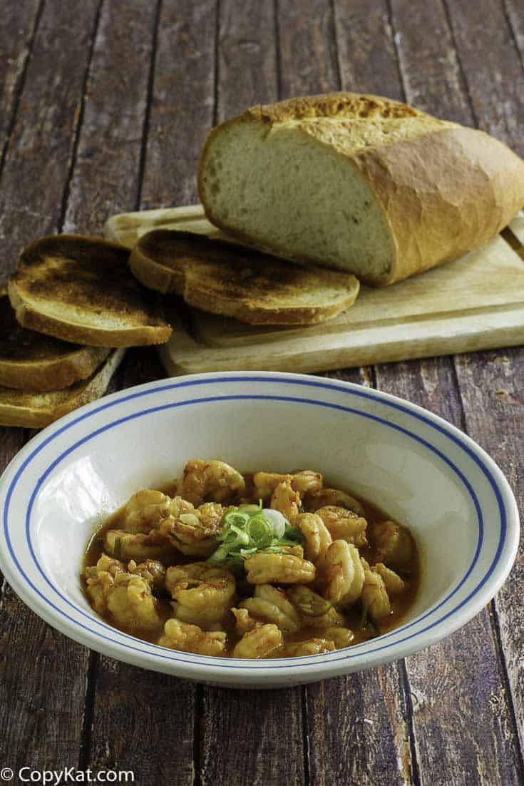 Enjoy Ruth Chris Barbeque Shrimp when you make it at home.  You can recreate this famous appetizer recipe.