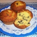 Make Otis Spunkmeyer Blueberry Muffins just like they do.