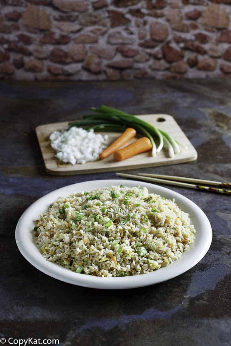 Recreate Benihana Fried Rice at home with this copycat recipe.