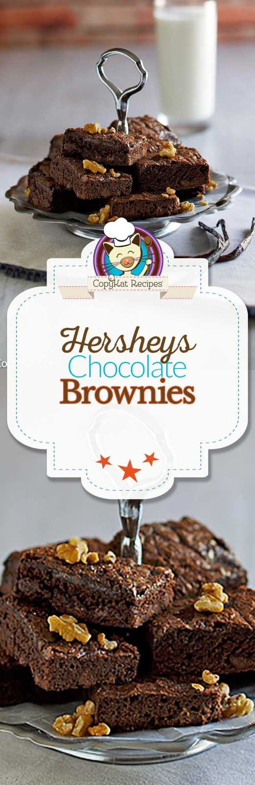 How to make delicious Hersheys brownies from scratch with this easy recipe.