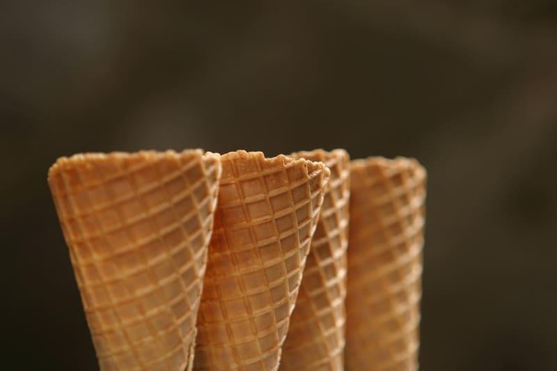 Rose Maddox Chocolate Ice Cream Cone