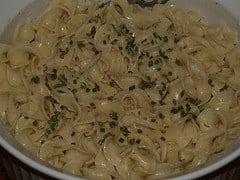 Creamy italian Noodles