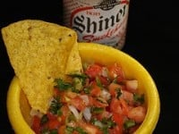 bowl of pico de gallo