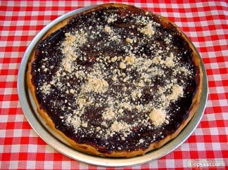Ci Ci's Chocolate Pizza