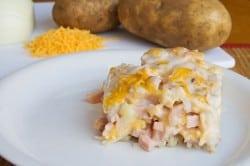 Ham Potato Casserole