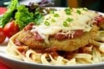 Thirteen Coins Breast of Chicken Parmigiana