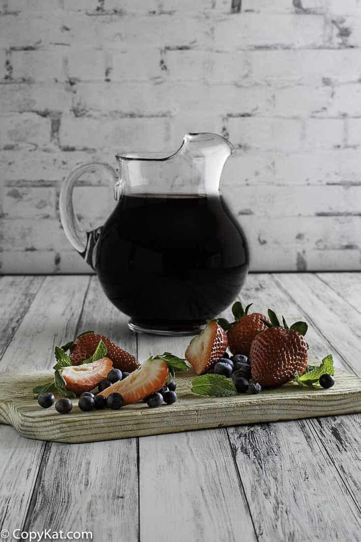 You can make Olive Garden Berry Sangria at home with this easy copycat recipe.