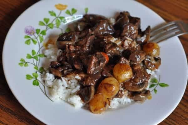 boeuf bourguignon recipe by Julia Child