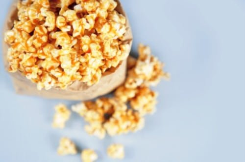 crunch and munch caramel popcorn