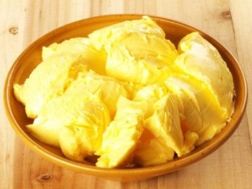 bowl of honey butter