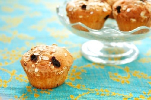 Oatmeal Muffins With Raisins, Dates, And Walnuts Recipes ...