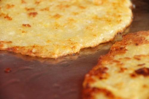 potato pancakes cooking