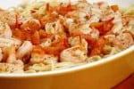 Microwave Shrimp Scampi