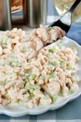 Shrimp salad recipe with pasta