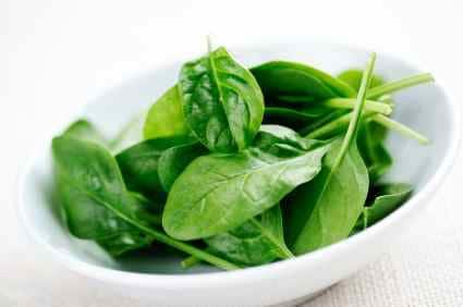 spinach for a salad