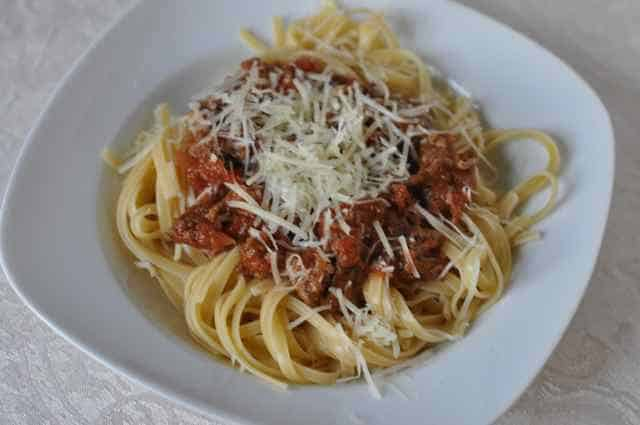 olive garden three meat sauce