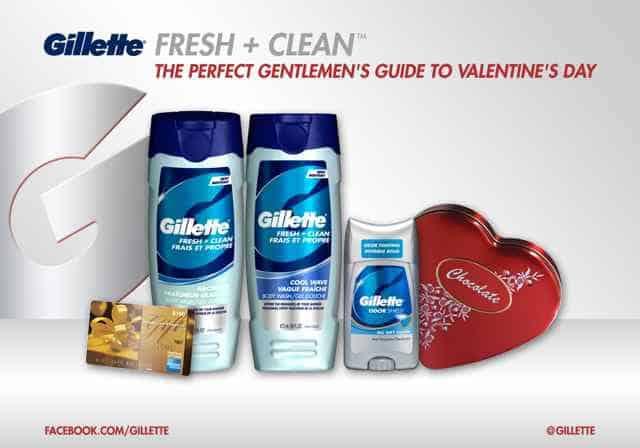 Gillette Giveaway