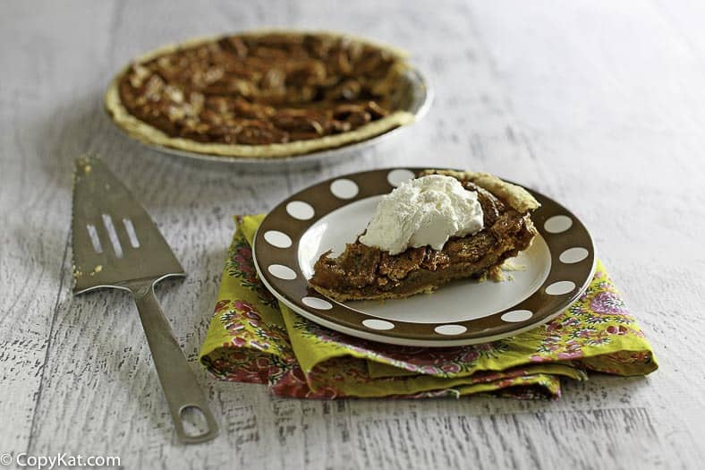 Recreate the Cracker Barrel Chocolate Pecan pie at home with this copycat recipe.