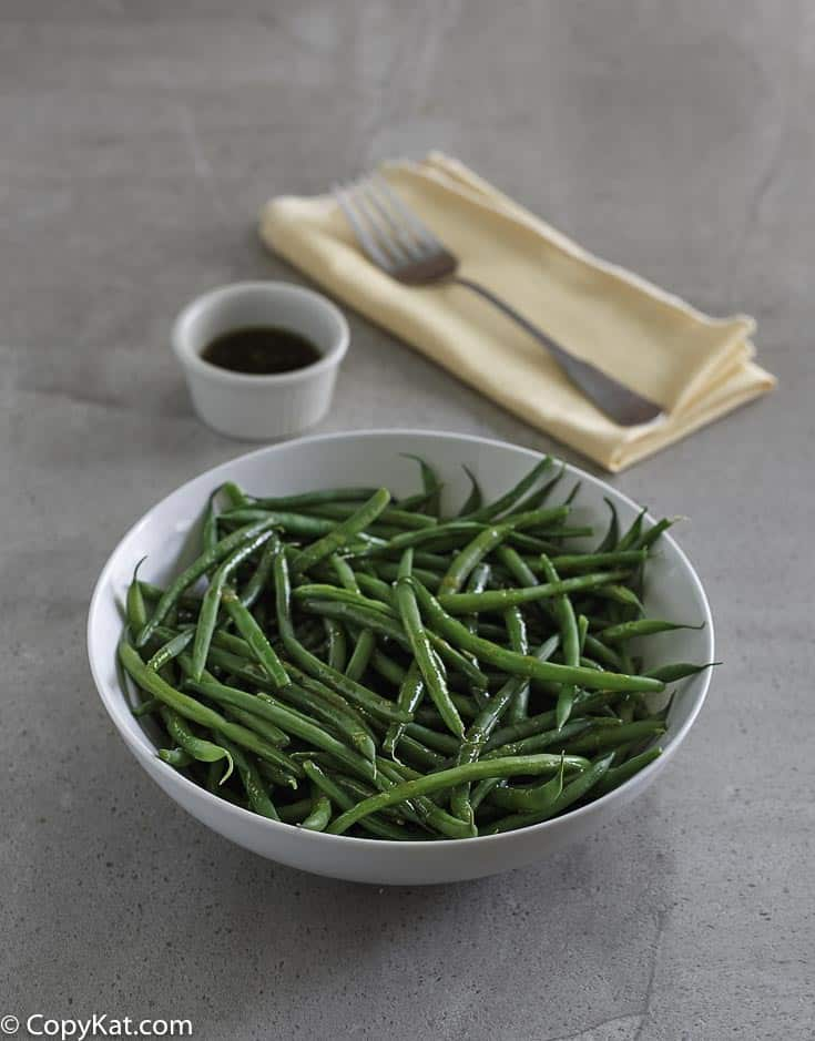 How to recreate the Outback Steakhouse Green Beans at home with this easy copycat recipe.