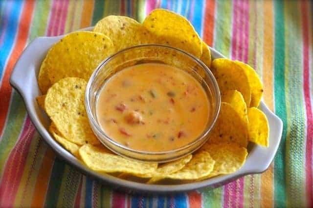 Velveeta Rotel Cheese dip