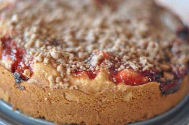 original recipe for cherry coffee cake. This coffee cake ...