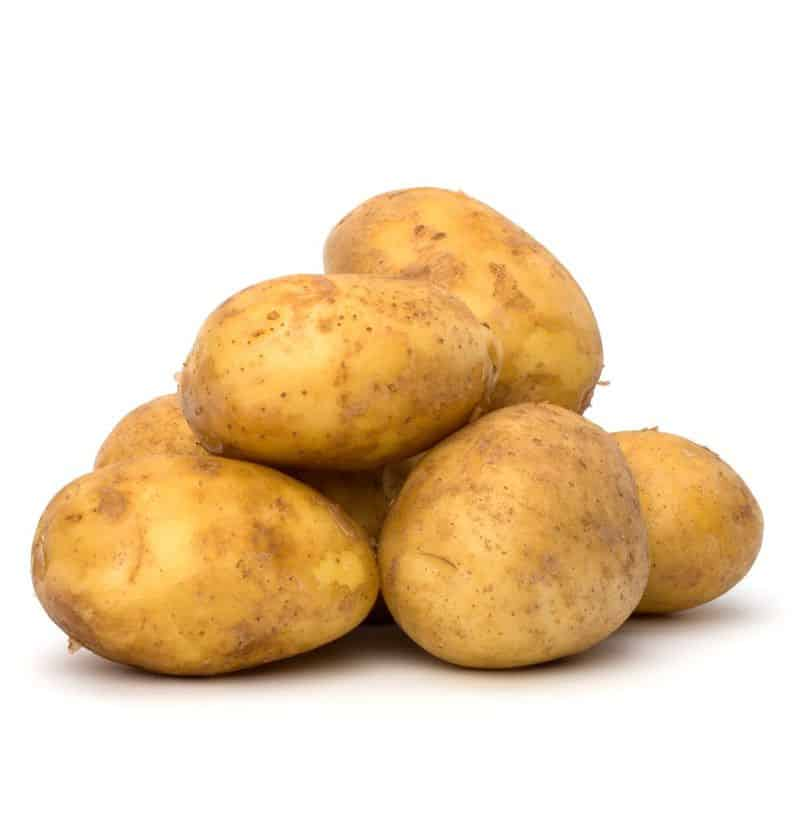 potatoes in a pile