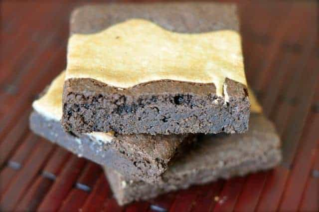 brownies with cream cheese