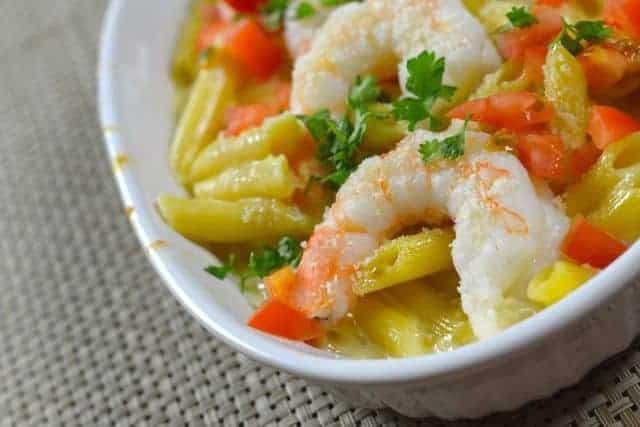 Baked Parmesan Shrimp