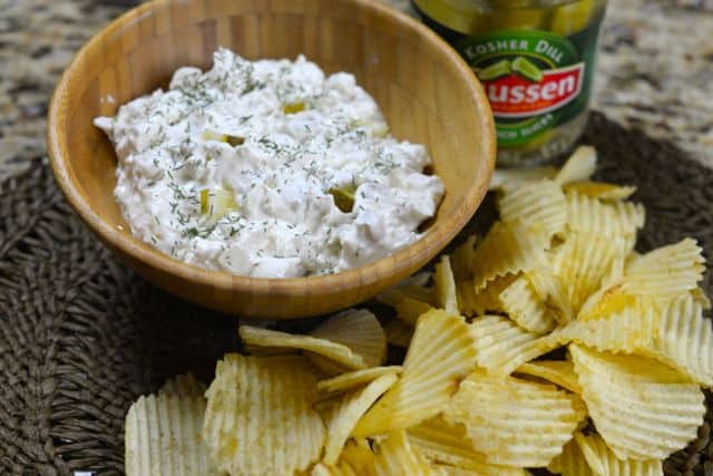 dip made with pickles