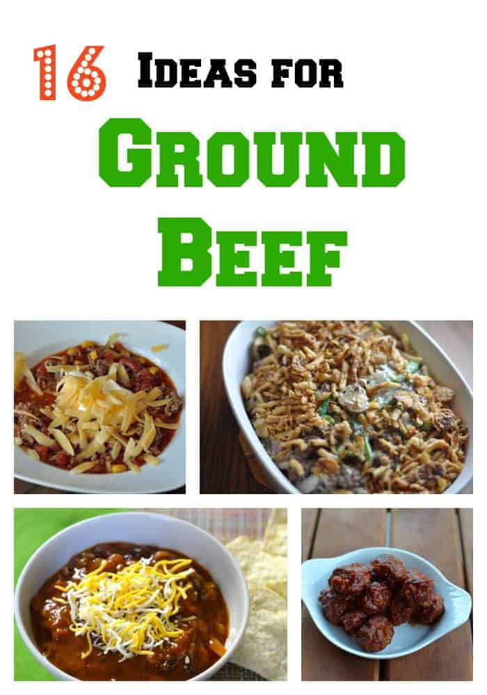 Recipe ideas recipe ideas for ground beef for What to make with hamburger meat for dinner
