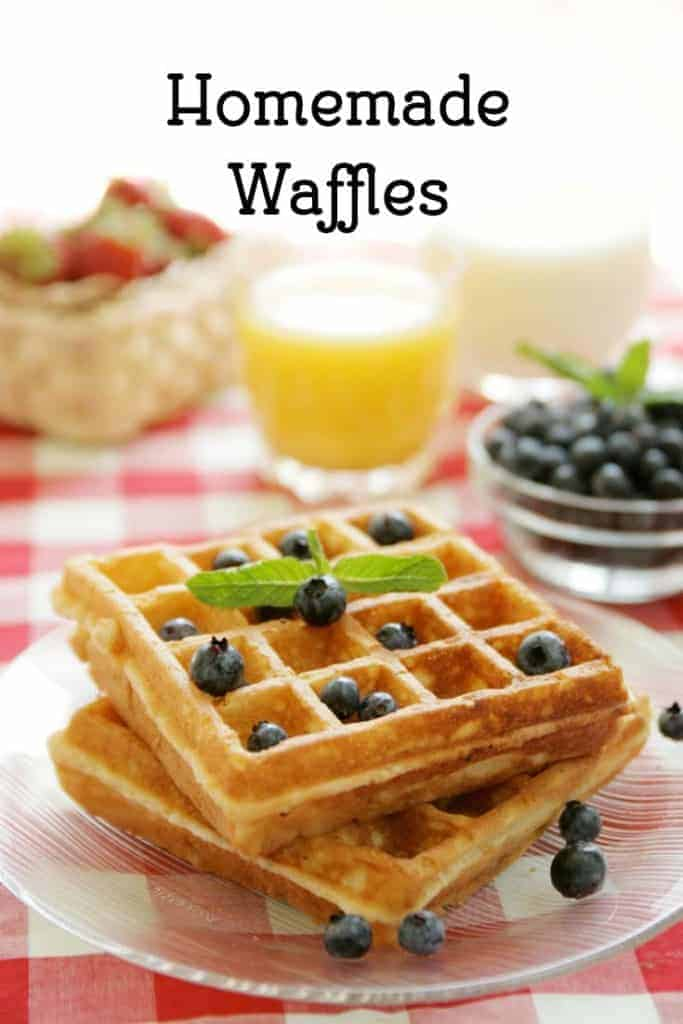 Learn how to make Homemade Waffles from CopyKat.com
