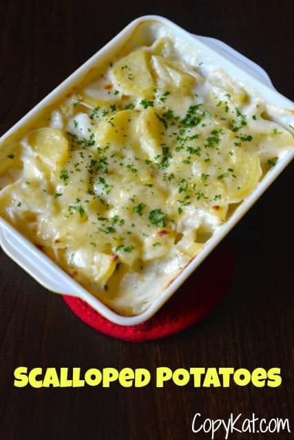 Scalloped Potatoes from CopyKat.com