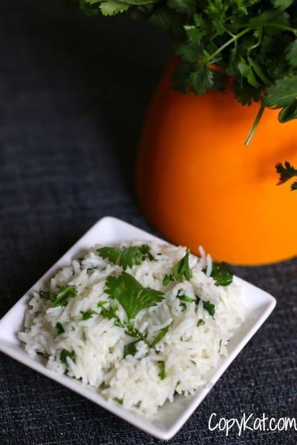 chiptole cilantro lime rice
