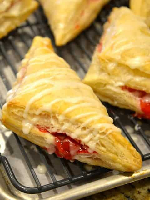 makes a delicious cherry turnovers recipe. This is one of the few fast ...
