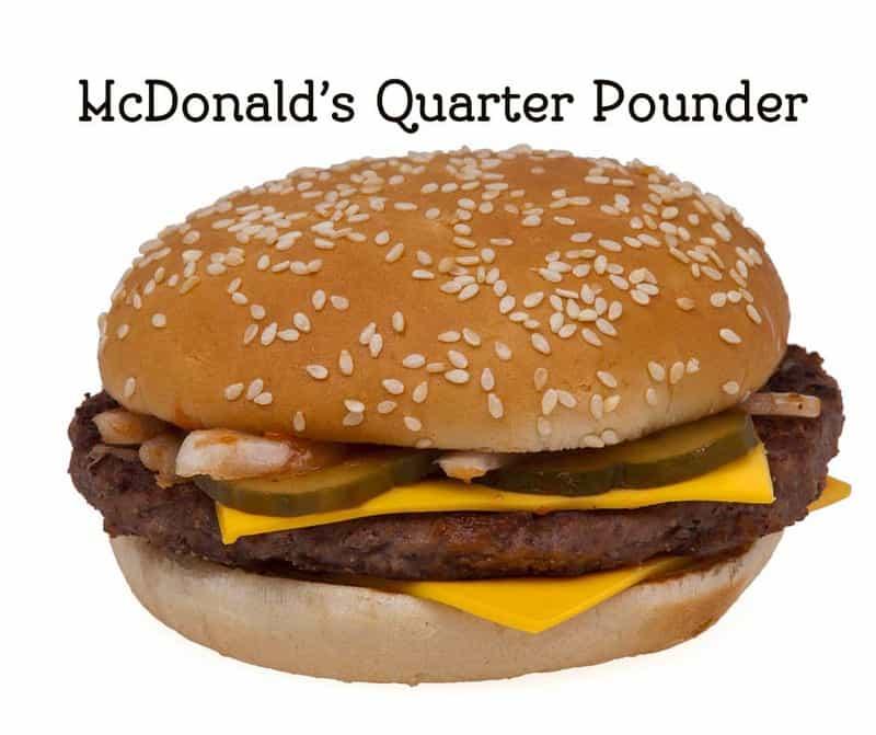 Make a copycat McDonald's Quarter Pounder