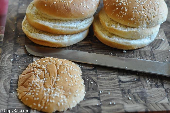 buns for big mac