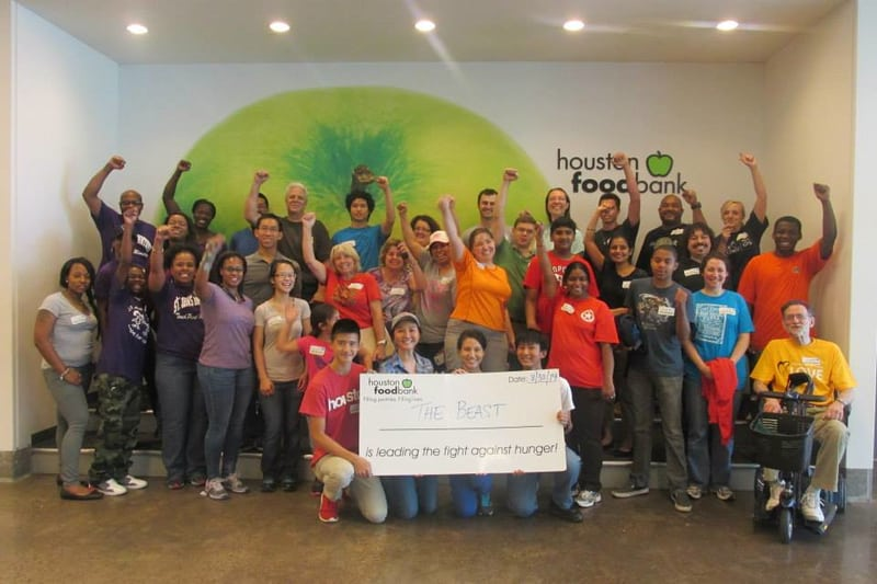 Houston food bank the beast