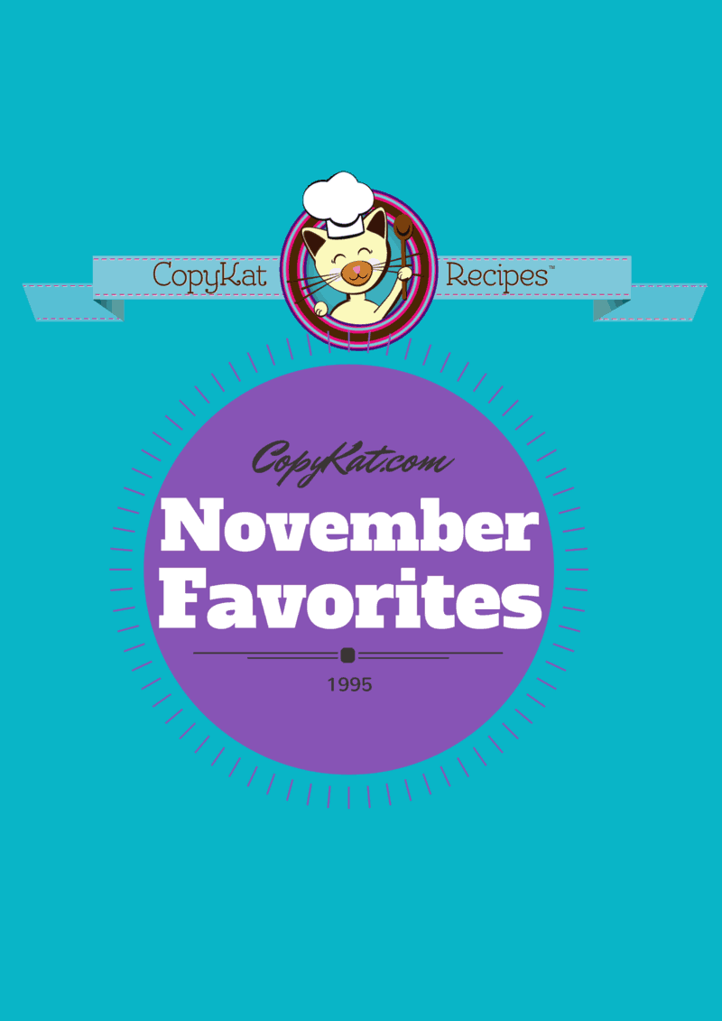 CopyKat.com November Favorites