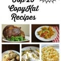 Top 25 CopyKat Recipes 2015