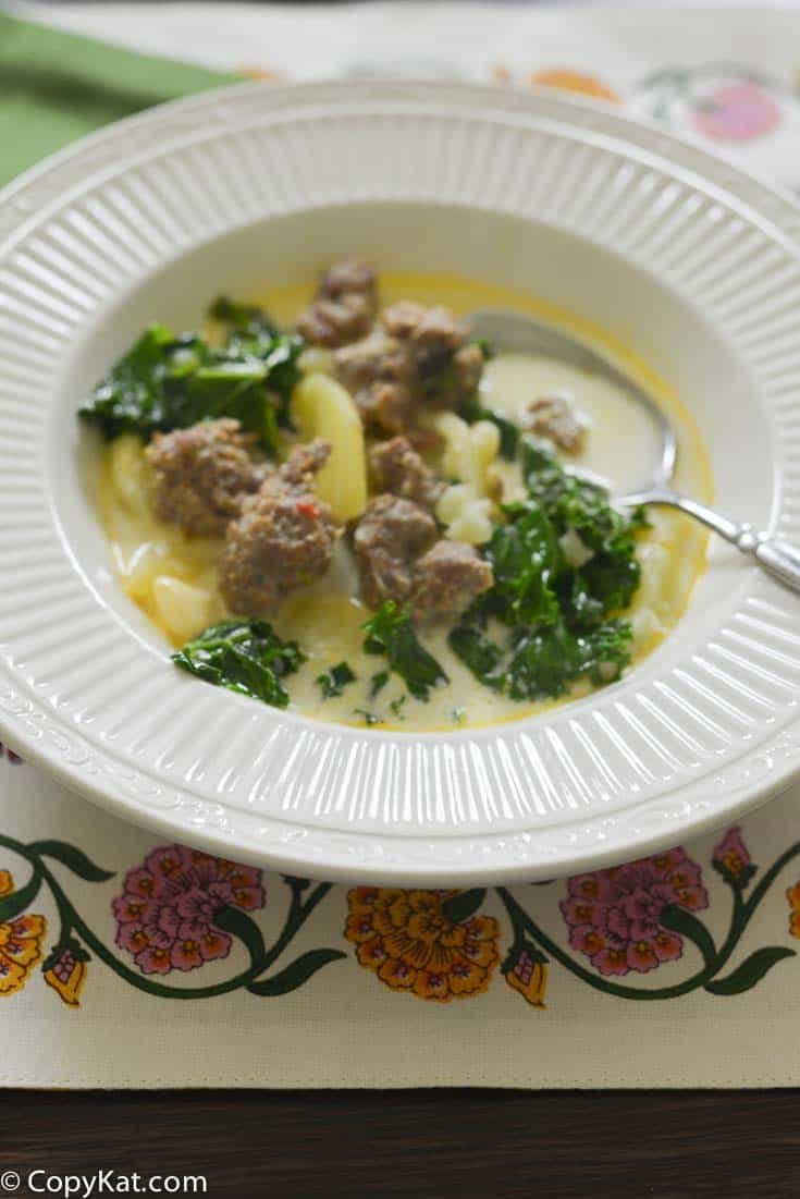 Olive Garden Zuppa Toscana Slow Cooker Style
