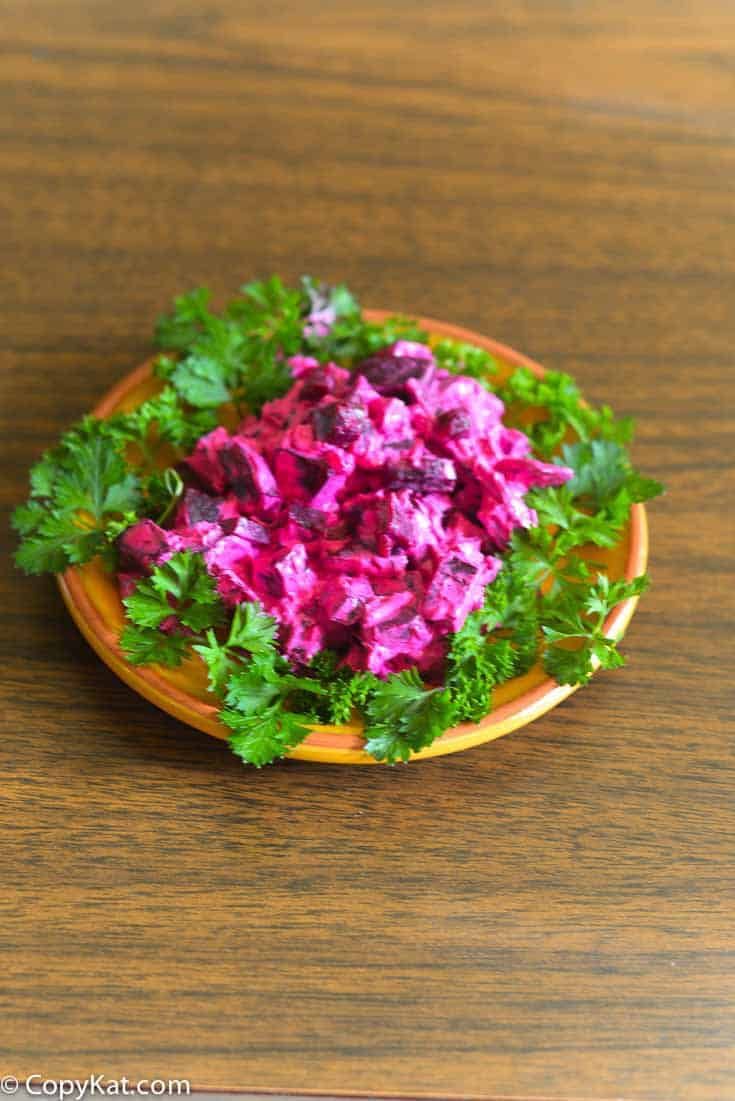How to Prepare Beets for a Salad