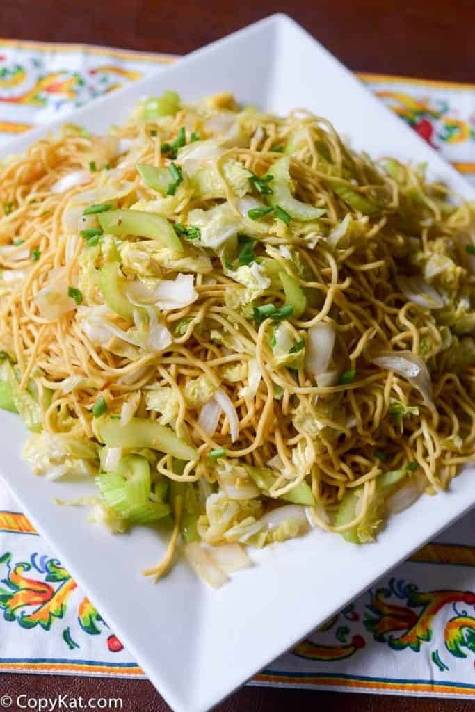 Make your own Panda Express Chow Mein just like the Panda Express with this CopyKat Recipe