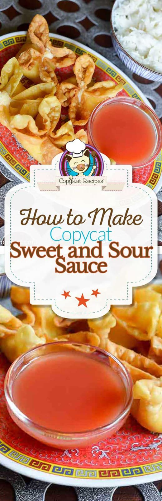 Learn how to make homemade Sweet and Sour Sauce, it tastes better than it does in a restaurant.   This is made with real fruit!