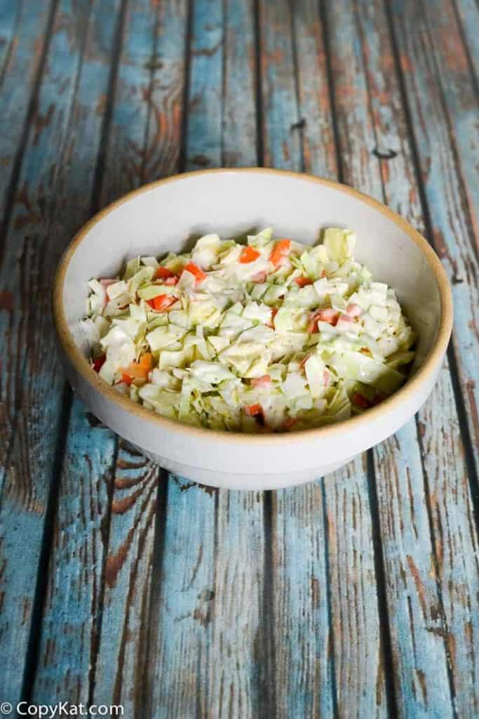 Captain D's Cole Slaw recipe from CopyKat.com