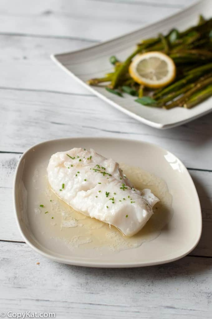 Butter Poached Monkfish from CopyKat.com