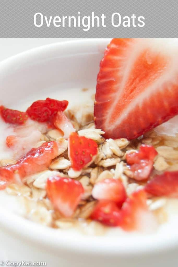 You can prepare this simple breakfast recipe for Overnight Oats