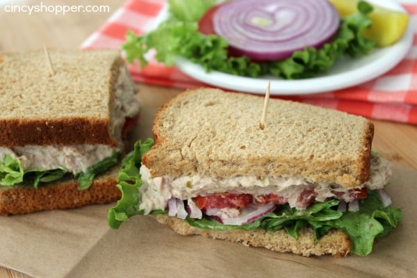 Panera bread recipes copycat for How to make a tuna fish sandwich