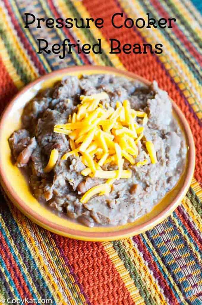 How to make pinto beans in a pressure cooker, these are the best refried beans you will ever make.