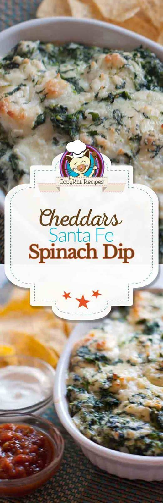 Make your own delicious Cheddars Santa Fe Spinach Dip at home with this easy copycat recipe.
